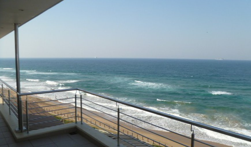 Full frontal Sea Views from Balcony  in Umhlanga Rocks, Umhlanga, KwaZulu-Natal , South Africa