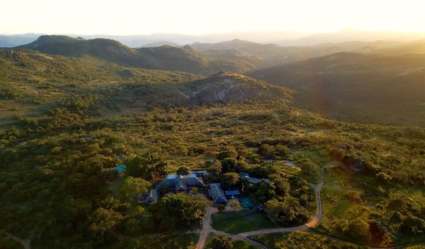 Aerial in Nelspruit (Mbombela), Mpumalanga, South Africa