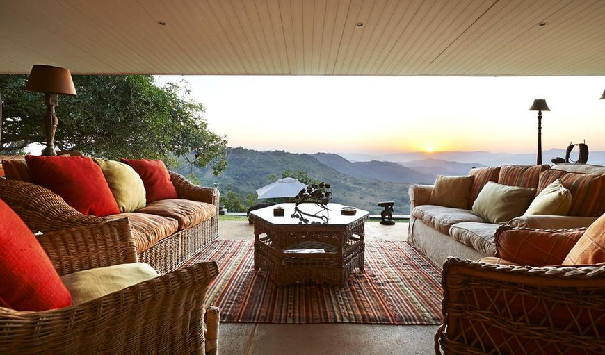 Valbonne villa patio sunrise view in Nelspruit, Mpumalanga, South Africa