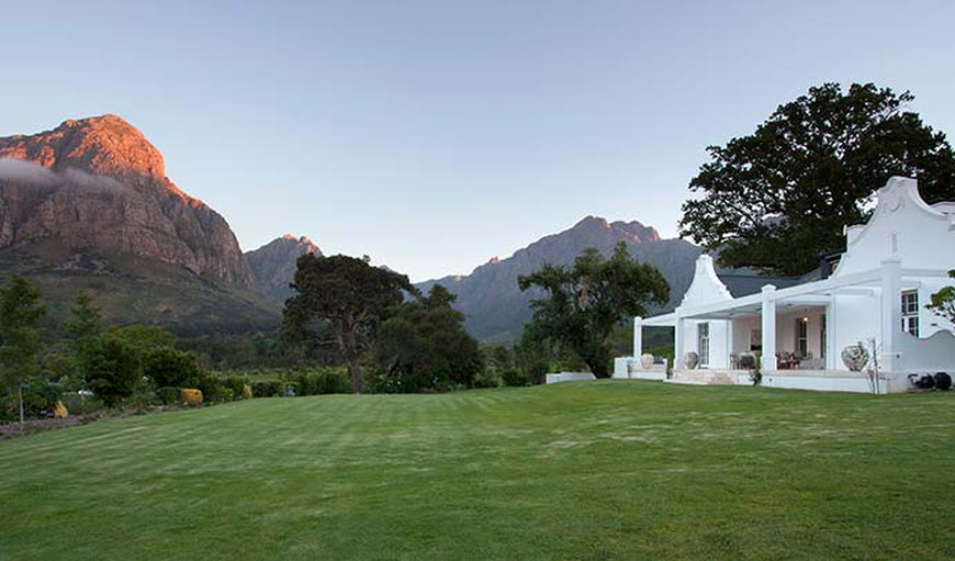 Homestead at Oldenburg Vineyards in Stellenbosch, Western Cape , South Africa
