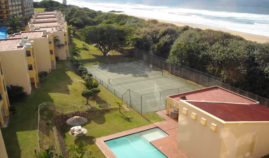 Swimming pool and tennis court. in Durban, KwaZulu-Natal, South Africa