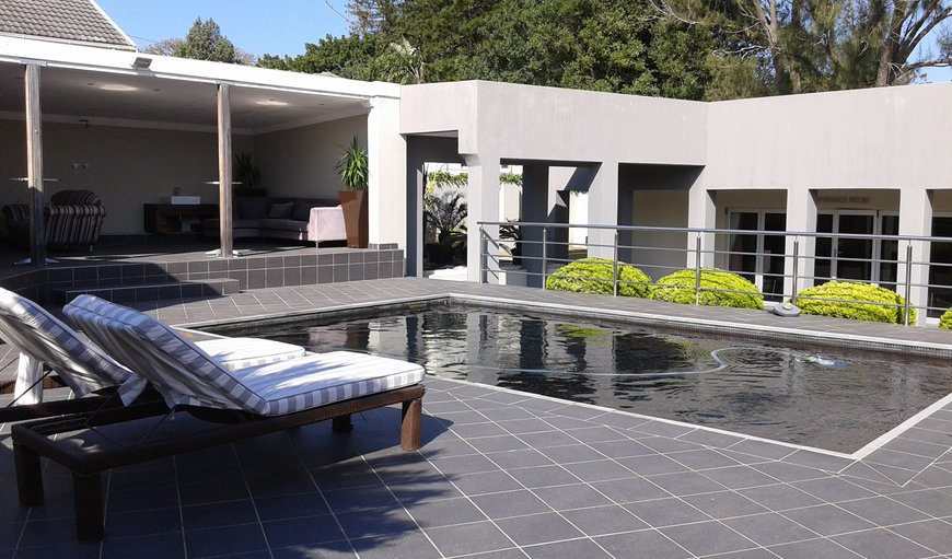 Pool and entertainment area in Bunkers Hill, East London, Eastern Cape, South Africa