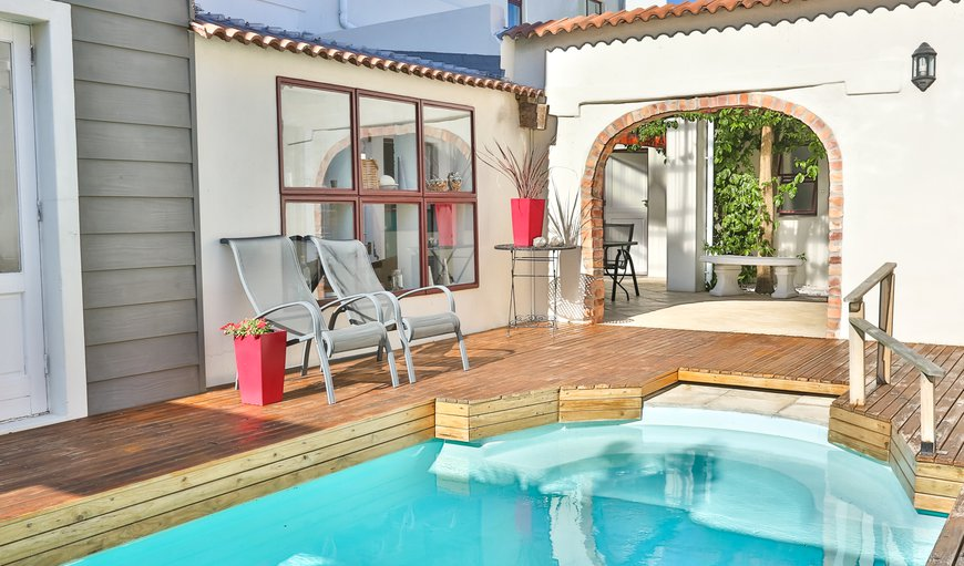 Communal pool in Fish Hoek, Cape Town, Western Cape, South Africa