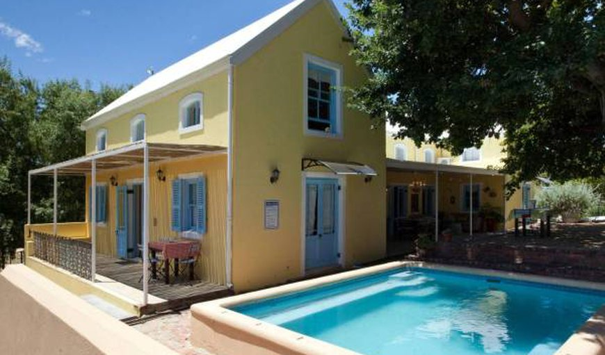 Shades of Provence in Riebeek Kasteel, Western Cape , South Africa