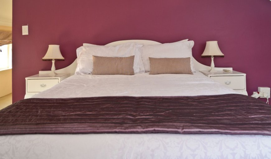 Vineyard room bed room with double bed and air-con.