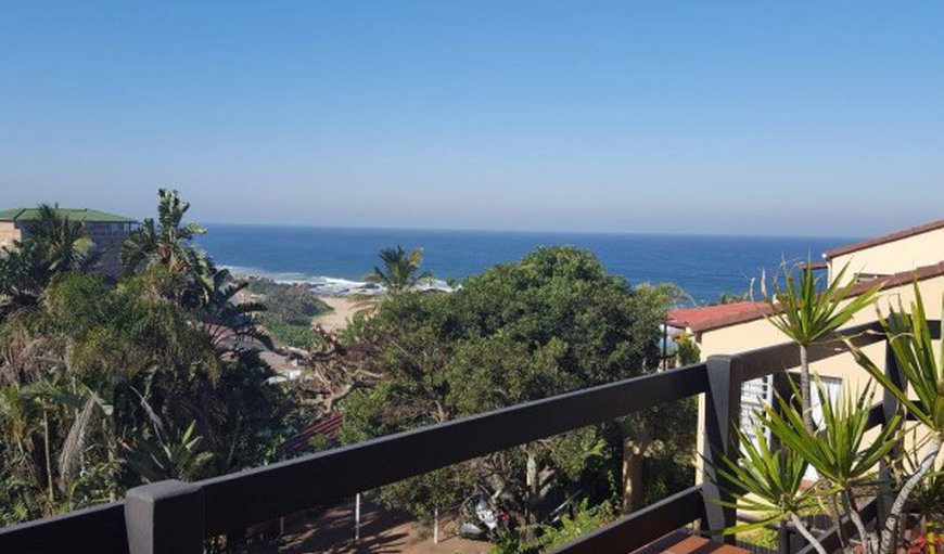 Unit 12 balcony with sea view. in Margate, KwaZulu-Natal, South Africa