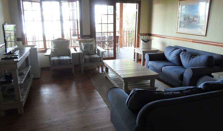 Lounge area with TV and DSTV