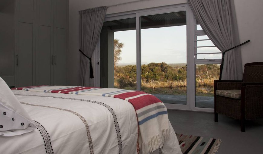 Blombos House bedroom with a view