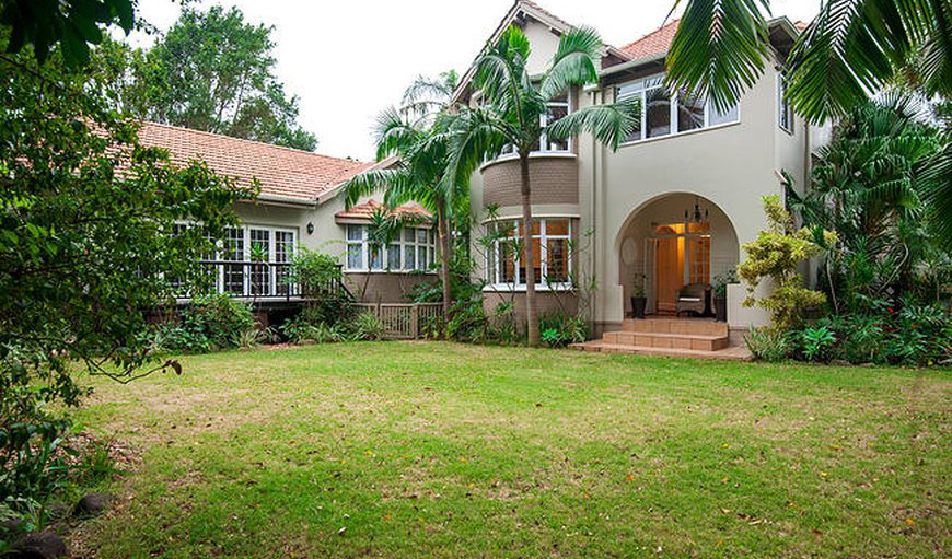 The Brother's Guest House front exterior in Durban North, Durban, KwaZulu-Natal , South Africa