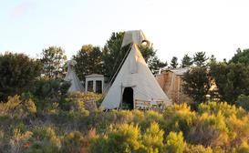 Sunset TeePee Retreat image
