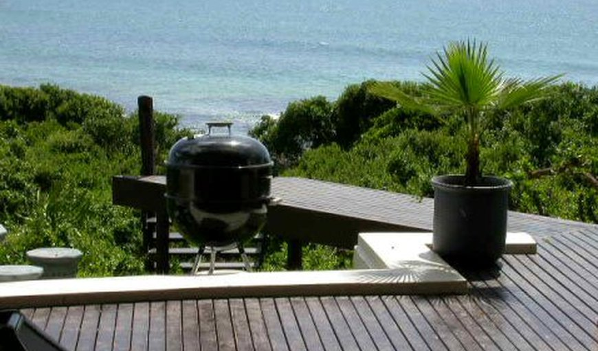 View from deck in Jeffreys Bay, Eastern Cape, South Africa