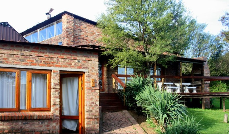 Self-catering exterior in Gariep Dam, Free State Province, South Africa