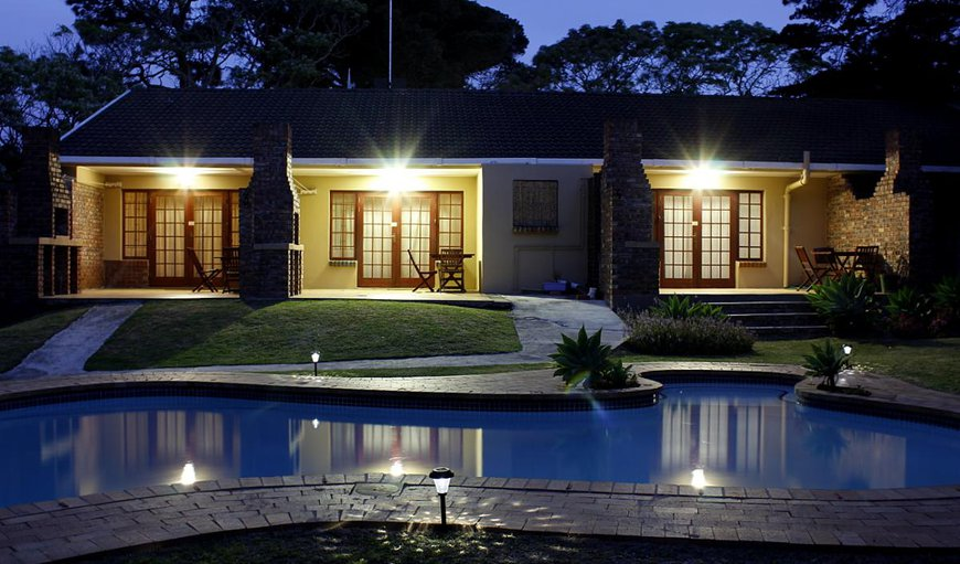 Night-time view of African Aquila Guest Lodge. in Walmer, Port Elizabeth, Eastern Cape, South Africa