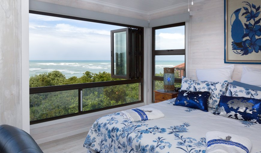 bedroom with panoramic sea view in Jeffreys Bay, Eastern Cape, South Africa