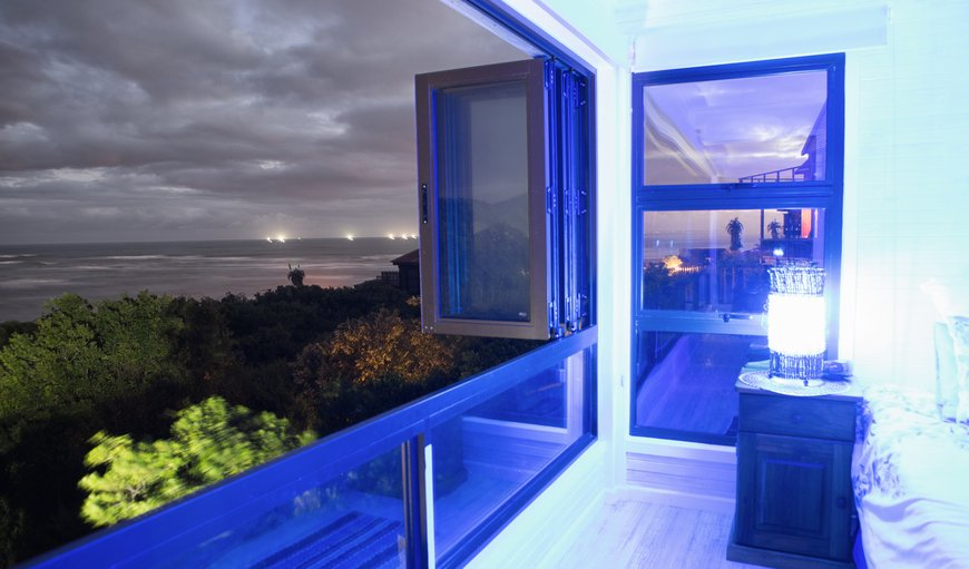 bedroom overlooking beach