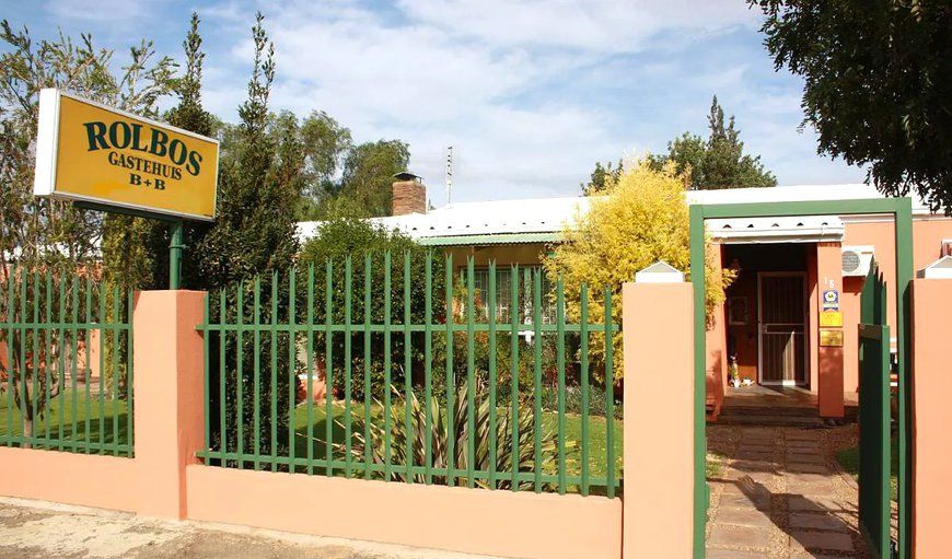 Welcome to Rolbos Guest House. in Calvinia, Northern Cape, South Africa