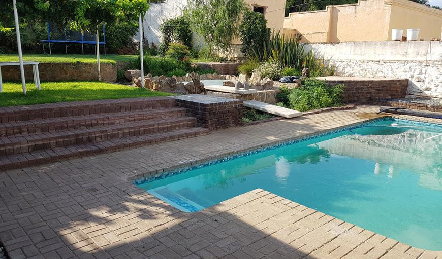 Swimming pool in Colesberg, Northern Cape, South Africa