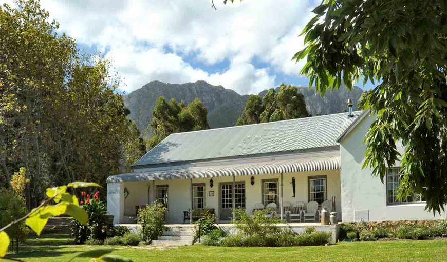 Wildevy House. in Greyton, Western Cape , South Africa