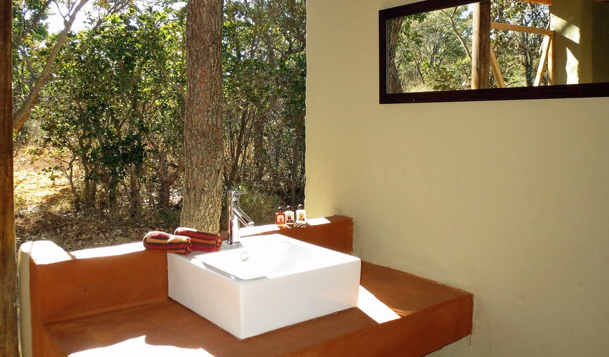 Civet Safari Tent - En-Suite Bathroom