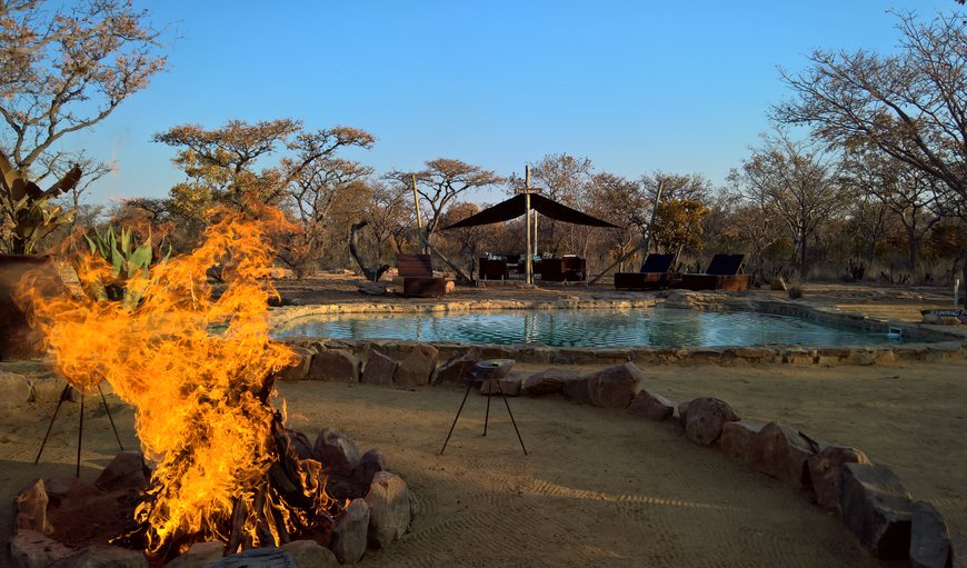 An African barbecue (braai) at the Swimming Pool and LOunge area