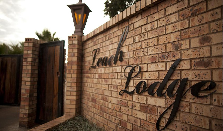 Welcome to Leach Lodge in Kuruman, Northern Cape, South Africa