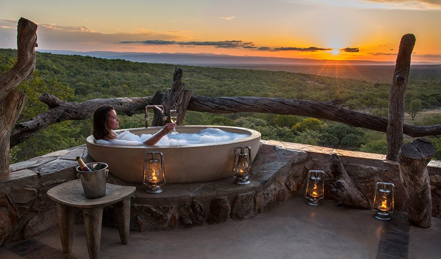 World's View Bath on balcony in Vaalwater, Limpopo, South Africa
