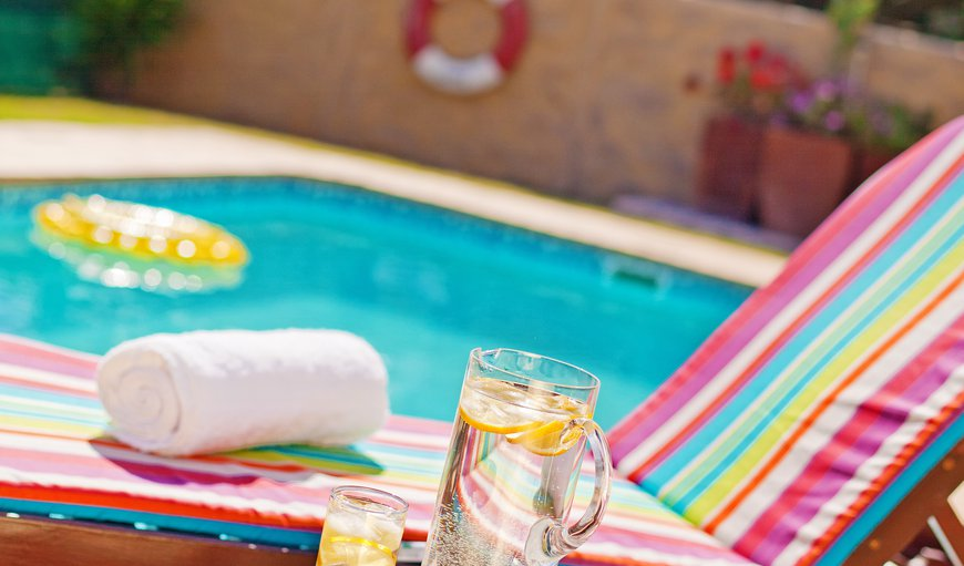 Relax at the poolside