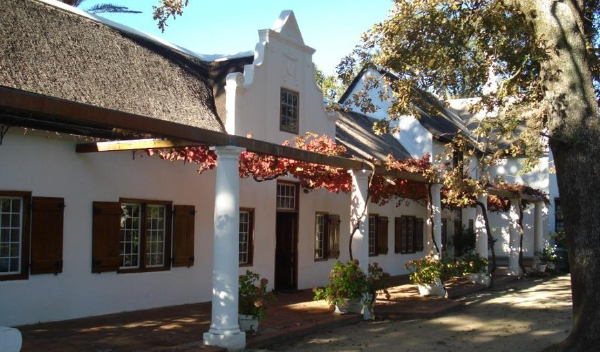 Lekkerwijn Historic Country House in Franschhoek, Western Cape , South Africa