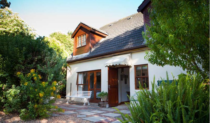 Littlewood Cottage Front Entrance in Tokai, Cape Town, Western Cape , South Africa