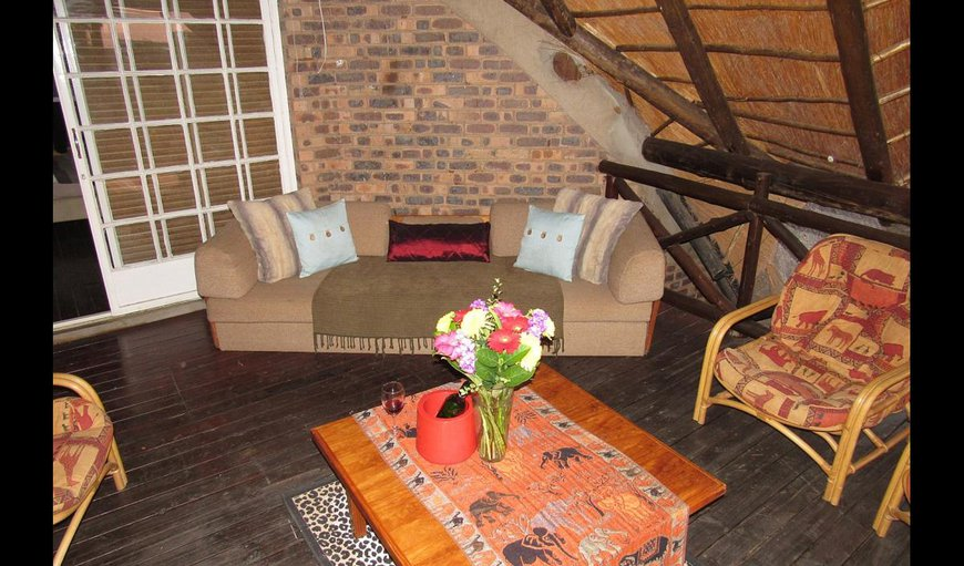 Manzini Kruger River View lounge area.