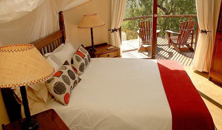 Family Chalet with two single beds which can be made up into a king size bed.