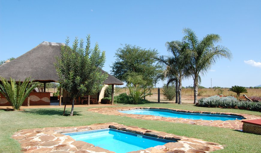 2 of the 3 pools plus lapa in Bela Bela (Warmbaths), Limpopo, South Africa