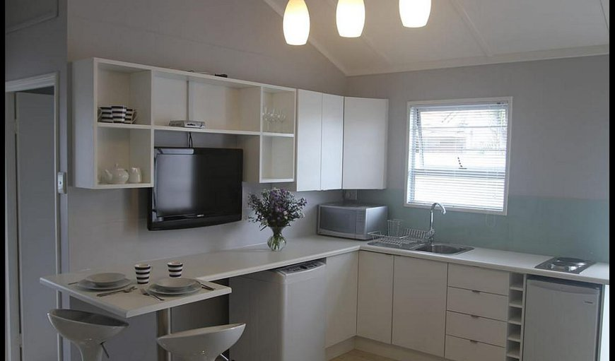 Double Studio kitchenette area.
