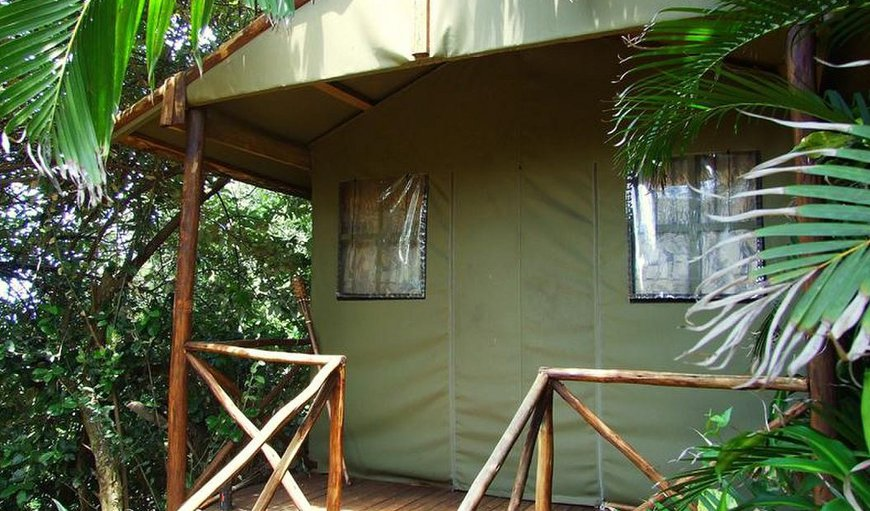 Private outdoor Tented Units