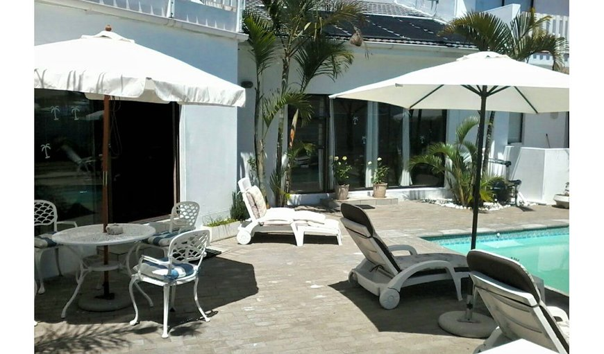 Guest are invited to lounge next to our sparkling swimming pool in Country Club, Langebaan, Western Cape, South Africa