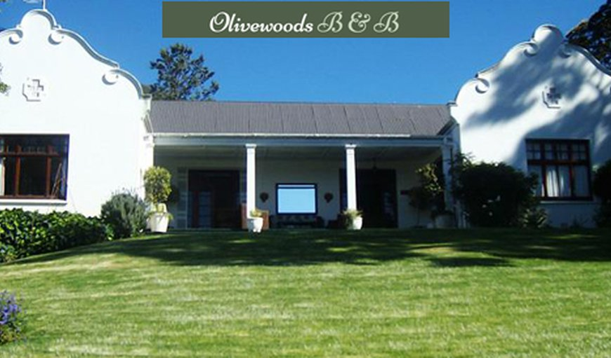 Welcome to Olivewoods B&B in Somerset East, Eastern Cape, South Africa