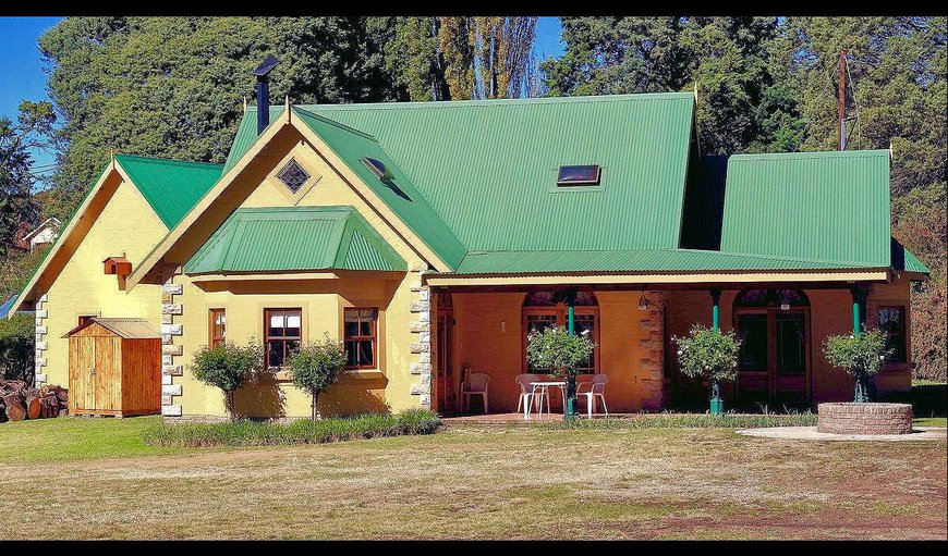 Hopton House in Clarens, Free State Province, South Africa