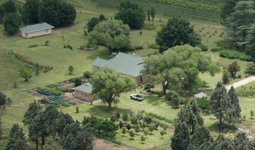 The Rose House is situated on a 580 hectare farm between Fouriesburg and Clarens on the S 325.