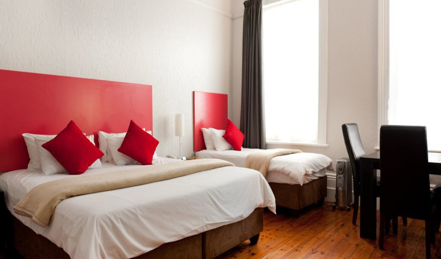 The Triple Room has 3 single beds which are perfect for friends travelling together