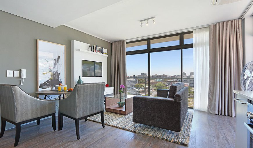 Two Bedroom Classic - Lounge & Dining in Sea Point, Cape Town, Western Cape , South Africa