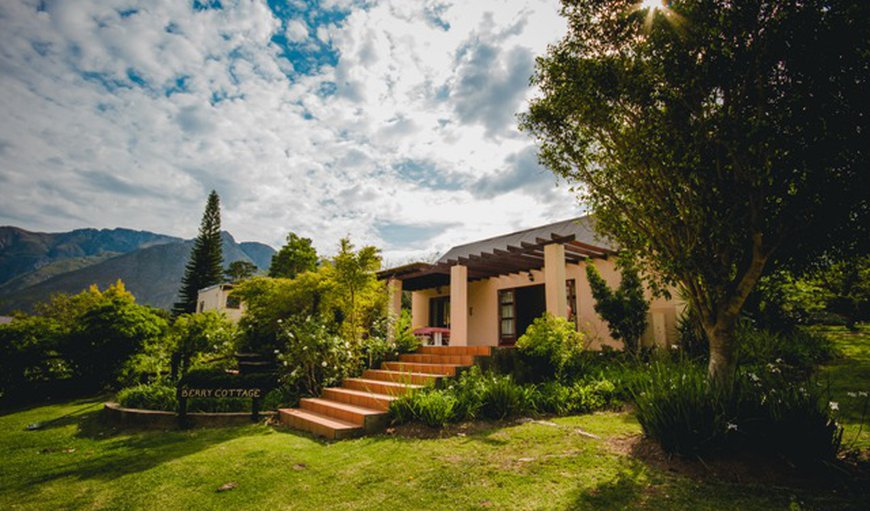 Berry cottage's view in Swellendam, Western Cape, South Africa