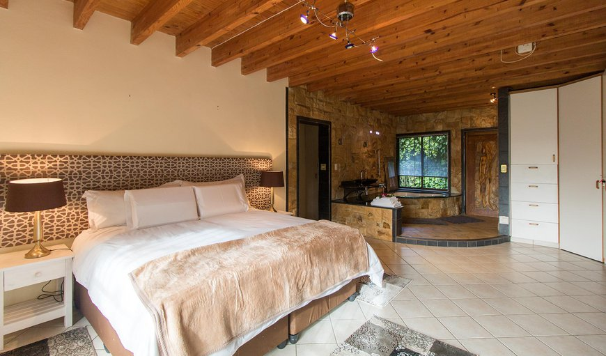 The main bedroom has a King-sized bed with en-suite bathroom