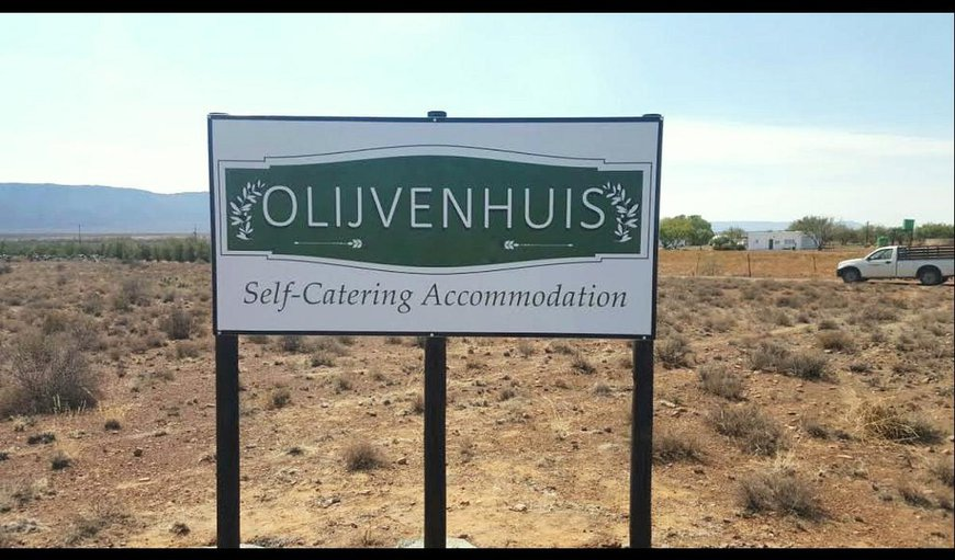 Welcome to Olijvenhuis. in Beaufort West, Western Cape , South Africa