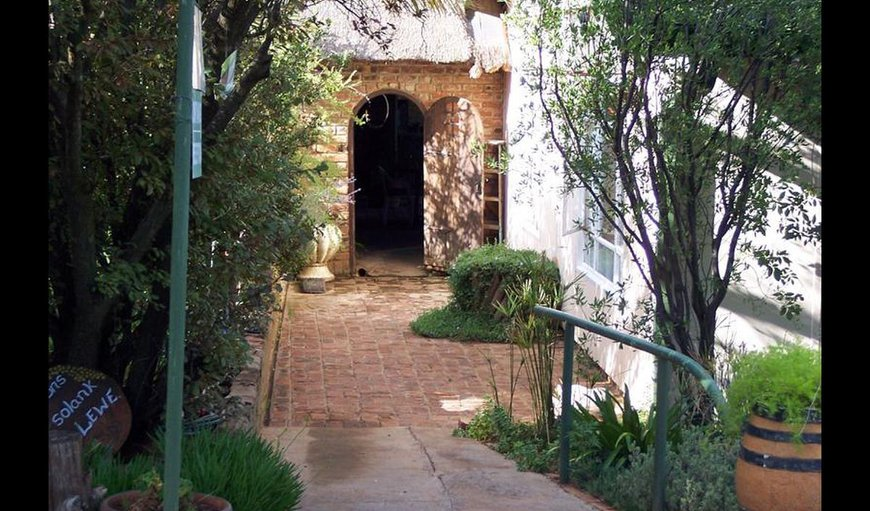 Rondefontein Guest Farm entrance.