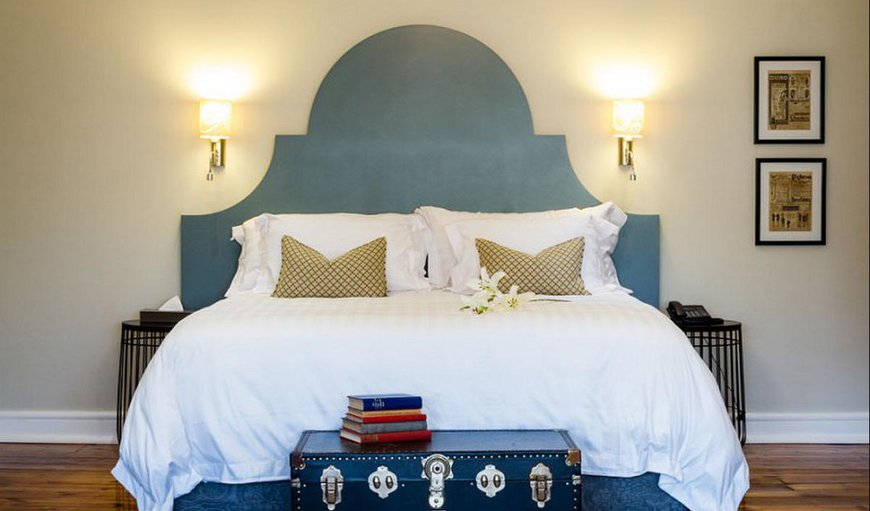 The Honeymoon Suite is the pinnacle of luxury and is fitted with a King-sized bed