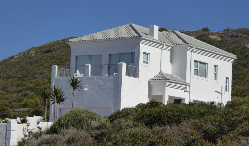 House From Road in Yzerfontein, Western Cape , South Africa