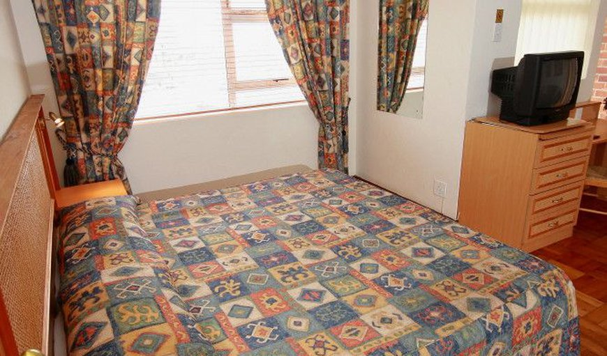 Our 2 bedroom apartment has a double bed