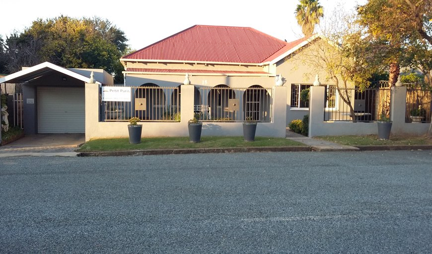 Welcome to Petit Paris Self Catering in Parys, Free State Province, South Africa