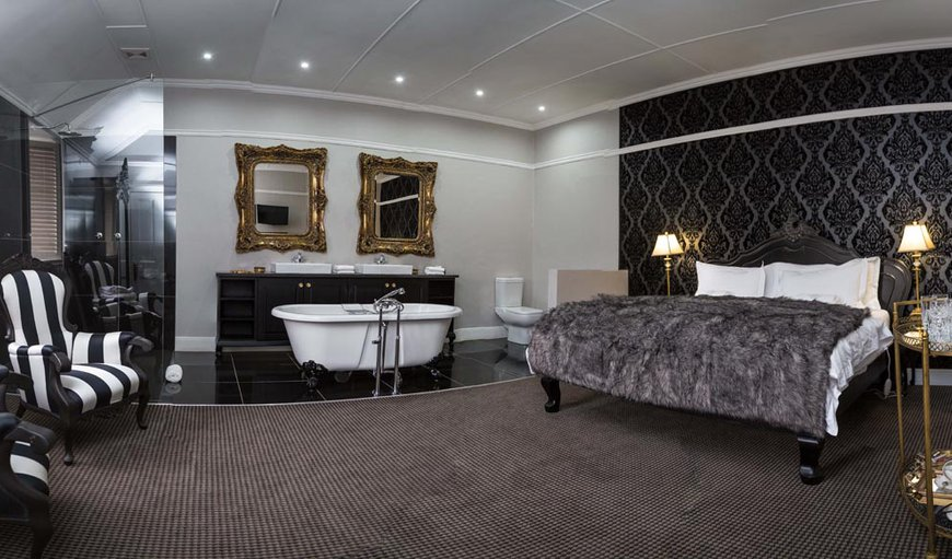 The Ambassador Suite is spacious and is fitted with a King-sized bed