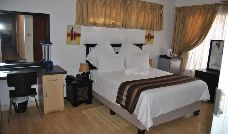 Our double rooms are fitted with double beds